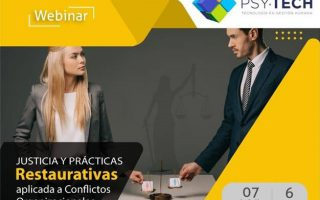 Webinar Justice and Restorative Practices Applied to Organizational Conflicts